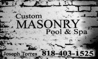 Avatar for Custom Masonry Pool&spa