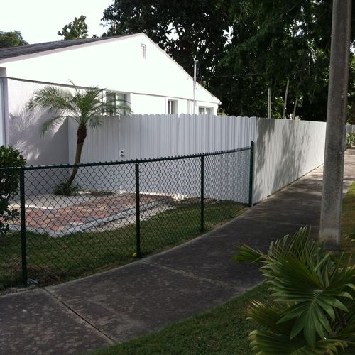 Chain Link & Dura Fence