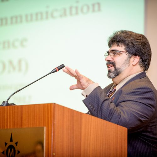 At South Eastern European Communicators Conference, Sep. 2012, in Budva, Montenegro