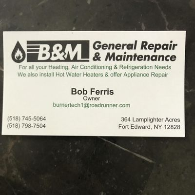 Avatar for B&M General Repair & Maintenance