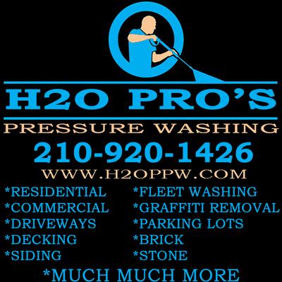 Avatar for H2O Pros Pressure Washing San Antonio, TX Thumbtack