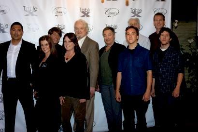 Cast photo Table X TV show
