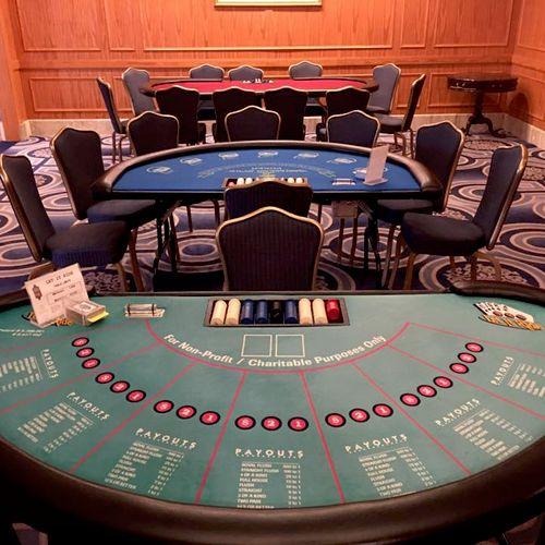 Let it Ride Poker Table
