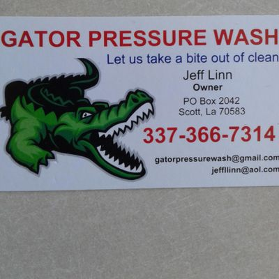 Avatar for Gator Pressure Wash Duson, LA Thumbtack