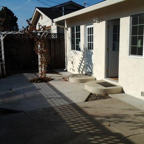Yin (after) Backyard