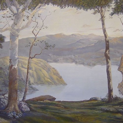 Large scale Hudson Valley Landscape. Private commission.