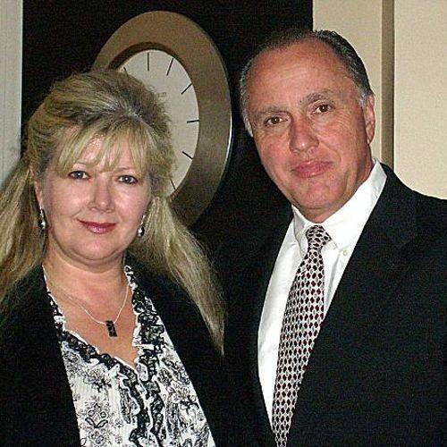 Robert Vaughn and Assistant, Lisa Lee