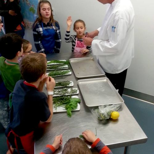 Food appreciation classes for children of all ages