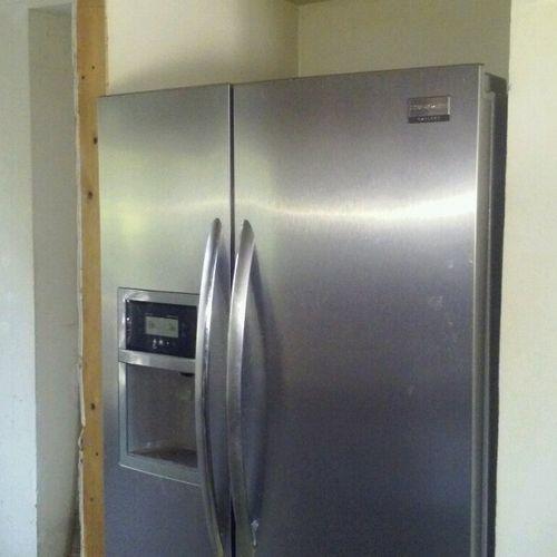 Refrigerator Repair, Double door. Bad compressor
