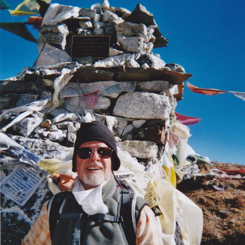 Joe M. Mt. Everest, Nepal