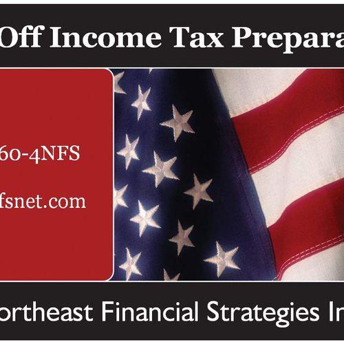 $30 Off Income Tax Prep