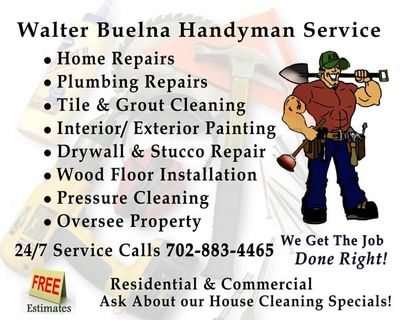 Avatar for Walter Buelna Handyman Service Las Vegas, NV Thumbtack