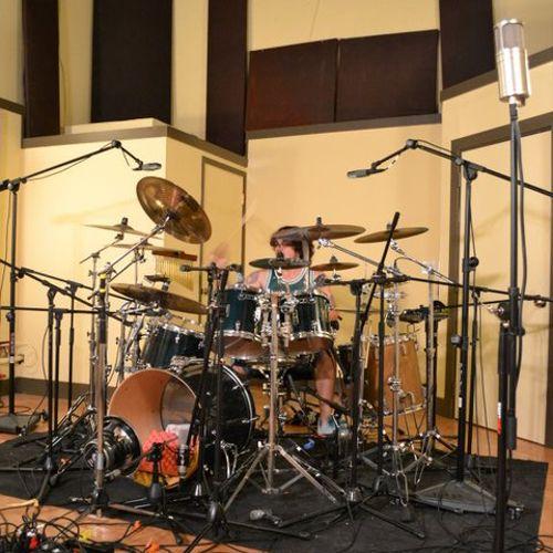 Studio A Live Room - 18' Ceilings -