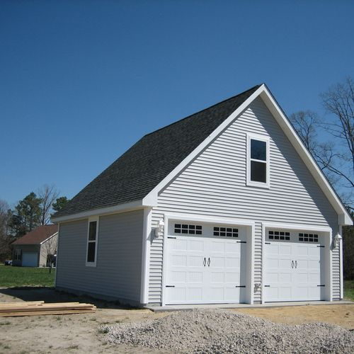 Custom Built Residential Garage