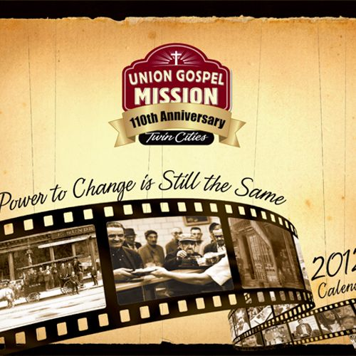 Union Gospel Mission Calendar Cover 2012