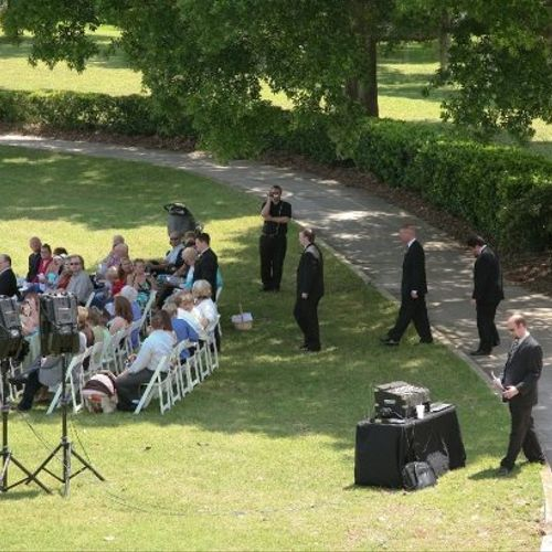 Outside Ceremony at Hidden Hills Golf and Country Club