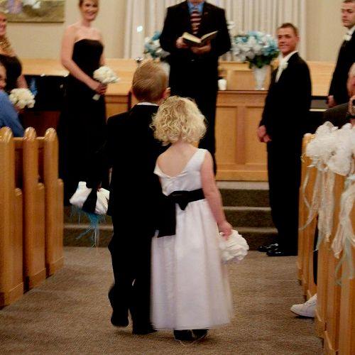 Regular church wedding