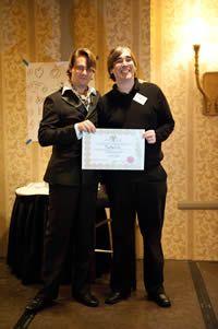 Getting my Hypnotherapy Certification from world renowned hypnotsist, Igor Ledochowski