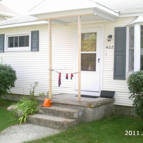 New Porch Railings