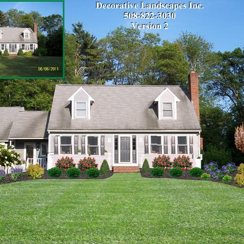 "Residential "" True to Life"" Landscape Design"