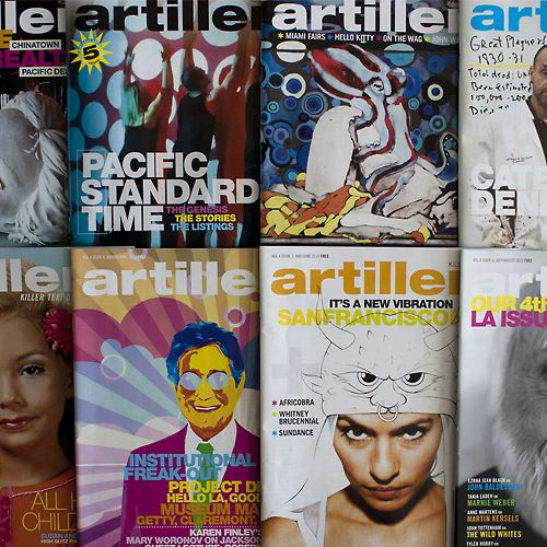 Artillery A national magazine about the fine art world