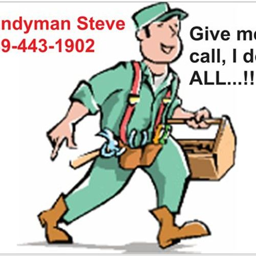 Come like US on Facebook http://www.facebook.com/pages/Handyman-Steve-Repair-Remodel/336420263055387