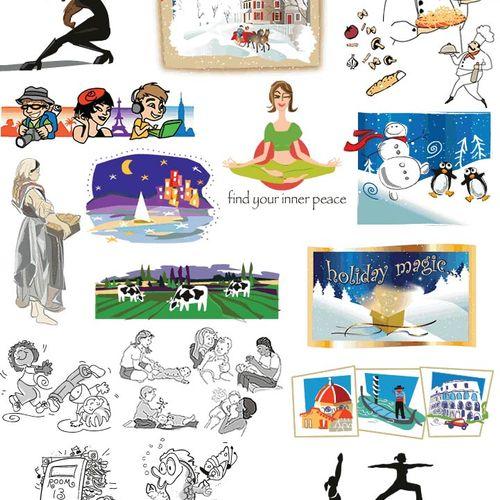Illustration samples