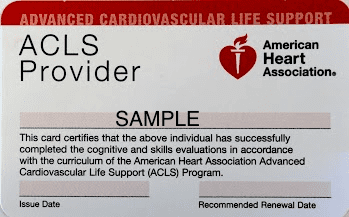ACLS Classes in Marin County