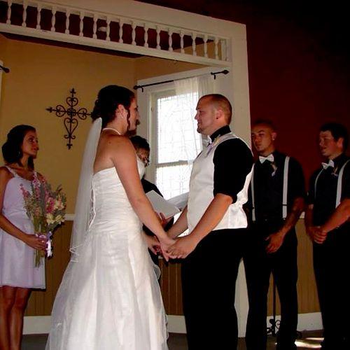 Bell Chapel wedding