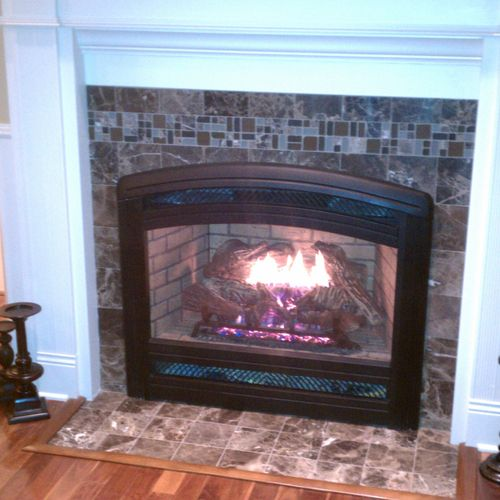 Direct vent gas installation and repairs - lennox Spectra LLS40