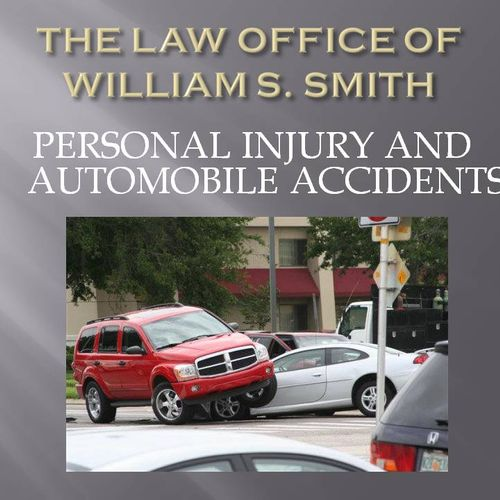 Personal Injury, Auto Accidents, Slip & Fall