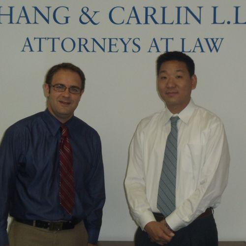 Founders and Attorneys John Carlin and David Chang.