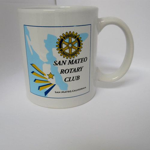Promotional Items! A mug for the Rotary Club.