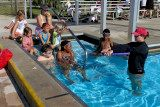Group lessons at our Martin County Highschool pool.