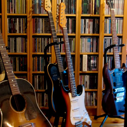 Specializing in guitar (acoustic & electric).