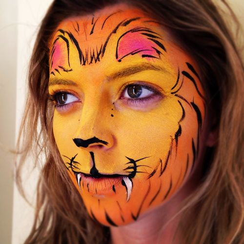 Big Grins Face Painting & Body Art Maryland DC party and events - Lion
