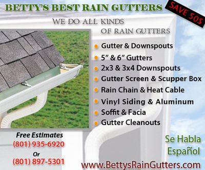 Avatar for Betty's Best Rain Gutters Salt Lake City, UT Thumbtack