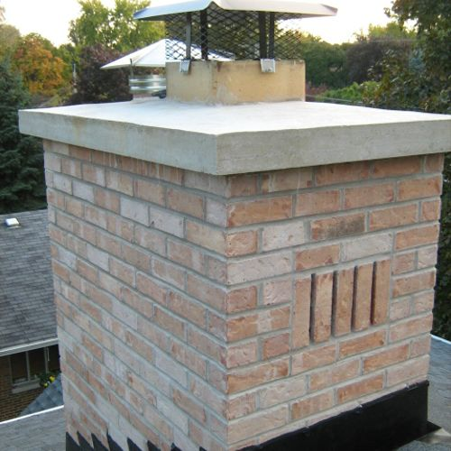 Chimney repair and tuckpointin