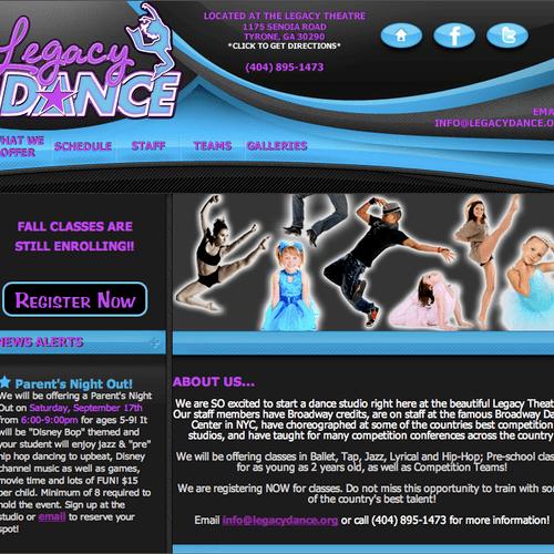 Dance Studio - Tyrone (Atlanta), GA. Visit http://www.legacydance.org/ to view the full website