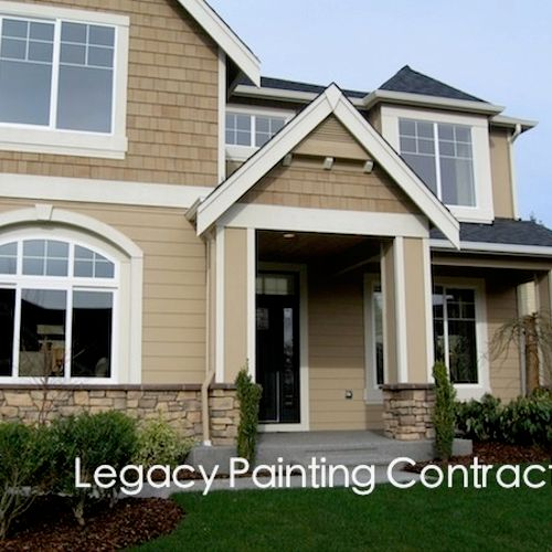 Exterior house painting, Livermore, CA