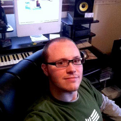 Hanging at my audio desk.