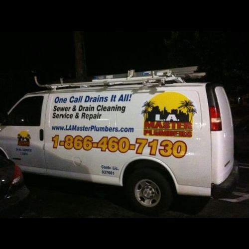 Clean professional vans.