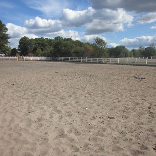 This is the outdoor arena.