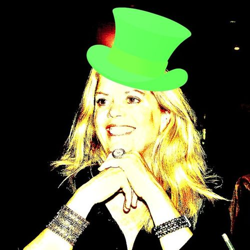 Concierge Services taking customers out on S Paddy's Day - joining in the fun!