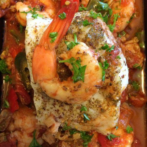 Seafood Boulliabase