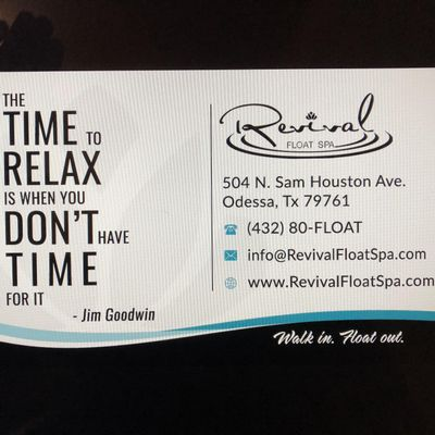 Avatar for Revival Float Spa Odessa, TX Thumbtack