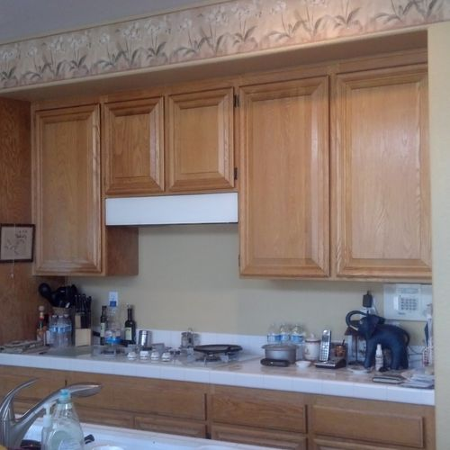 2013 - Temecula kitchen remodel- Before picture #1