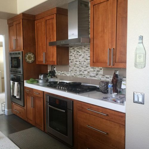 2013 - Temecula kitchen remodel- After picture #1