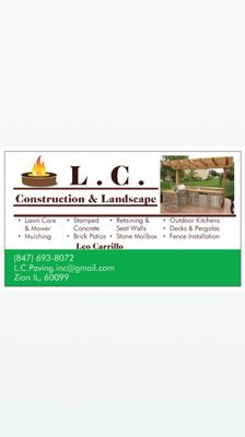 Avatar for L.C Construction & Landscape Inc.