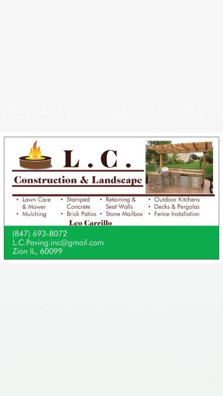 L.C Construction & Landscape Inc.